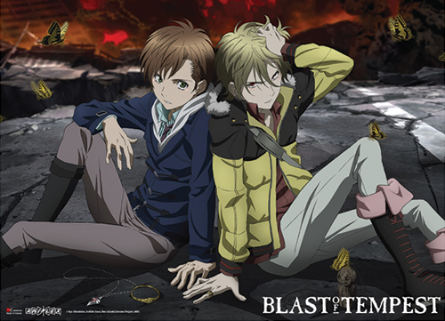 Blast Of Tempest - Group Wallscroll, an officially licensed product in our Blast Of Tempest Wall Scroll Posters department.