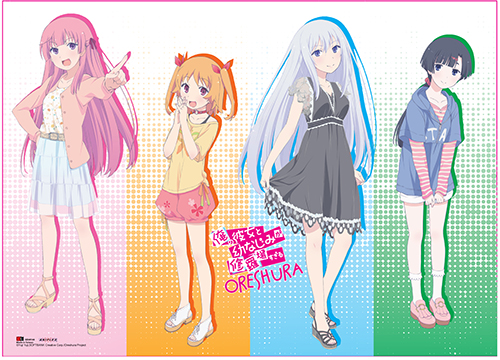 Oreshura - Girls Group Wall Scroll, an officially licensed product in our Oreshura Wall Scroll Posters department.