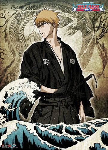 Bleach - Ichigo Wallscroll, an officially licensed product in our Bleach Wall Scroll Posters department.