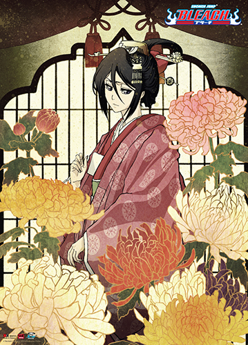 Bleach - Rukia Wall Scroll officially licensed Bleach Wall Scroll Posters product at B.A. Toys.