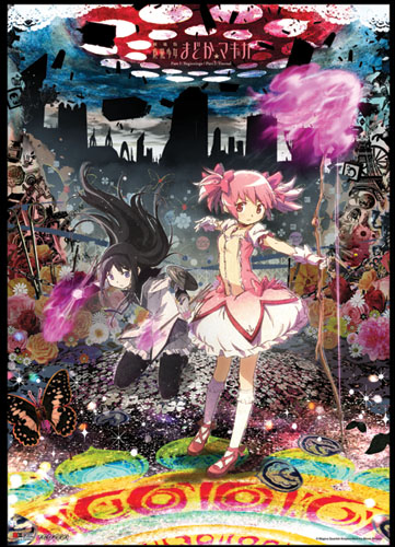 Madoka Magica Movie - Madoka & Homura Wallscroll, an officially licensed product in our Madoka Magica Wall Scroll Posters department.