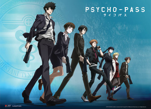 Psycho Pass - Group Line-Up Wallscroll, an officially licensed product in our Psycho-Pass Wall Scroll Posters department.