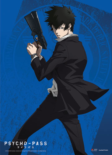 Psycho Pass - Shinya Kogami Wallscroll, an officially licensed product in our Psycho-Pass Wall Scroll Posters department.