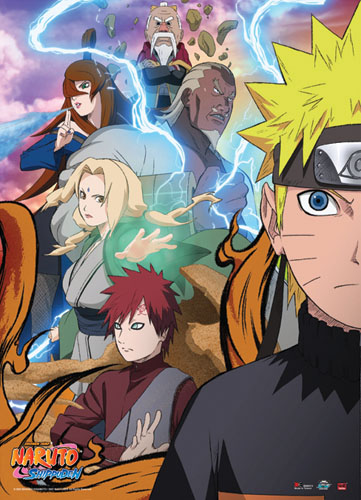 Naruto Shippuden - Naruto Allies Wallscroll, an officially licensed product in our Naruto Shippuden Wall Scroll Posters department.