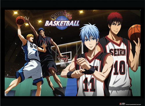Kuroko's Basketball - Basketball Game Wallscroll, an officially licensed product in our Kuroko'S Basketball Wall Scroll Posters department.