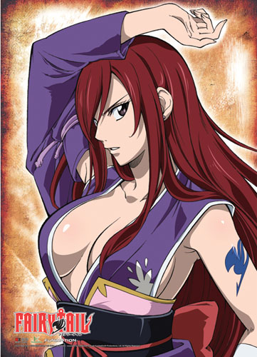 Fairy Tail - Ezra Wallscroll, an officially licensed Fairy Tail Wall Scroll
