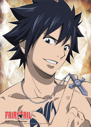 Fairy Tail - Gray Wallscroll, an officially licensed product in our Fairy Tail Wall Scroll Posters department.