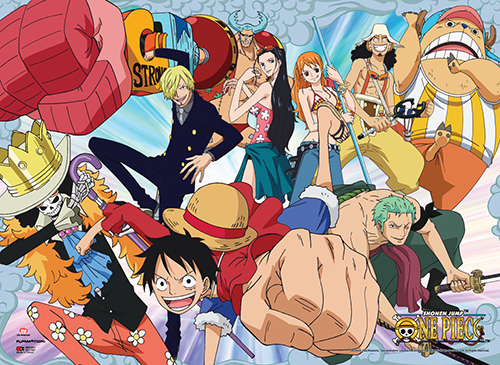 One Piece - Crew Wall Scroll, an officially licensed product in our One Piece Wall Scroll Posters department.