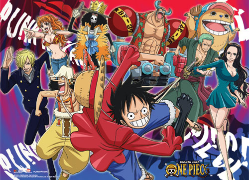 One Piece- Psychedelic Wallscroll, an officially licensed product in our One Piece Wall Scroll Posters department.