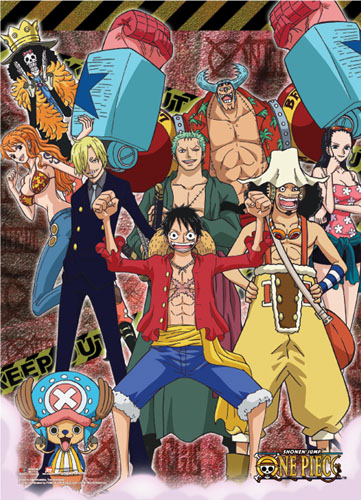 One Piece - Keep Out Wallscroll, an officially licensed product in our One Piece Wall Scroll Posters department.