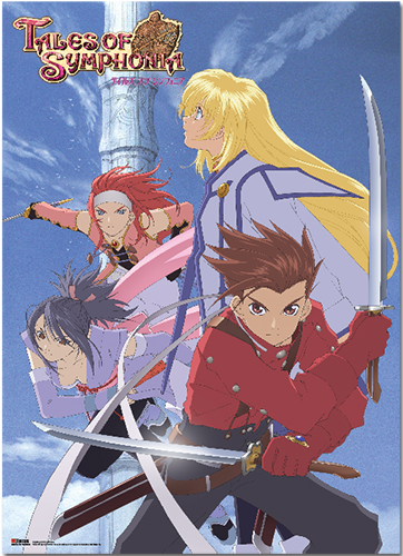 Tales Of Symphonia - Key Art Wallscroll, an officially licensed product in our Tales Of Symphonia Wall Scroll Posters department.