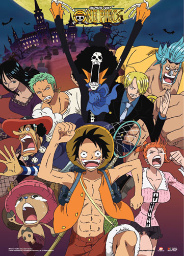 One Piece - Run!! Wallscroll, an officially licensed product in our One Piece Wall Scroll Posters department.