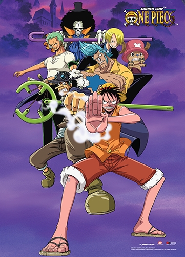 One Piece - Fighting Pose Wall Scroll, an officially licensed product in our One Piece Wall Scroll Posters department.