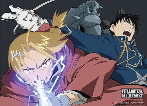 Fullmetal Alchemist Brotherhood - Group 2 Wallscroll officially licensed Fullmetal Alchemist Wall Scroll Posters product at B.A. Toys.