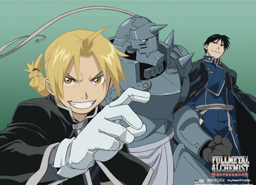 Fullmetal Alchemist Brotherhood - Fma Group 5 Wallscroll, an officially licensed product in our Fullmetal Alchemist Wall Scroll Posters department.