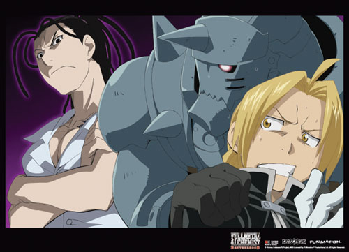 Fullmetal Alchemist Brotherhood - Group 9 Wallscroll officially licensed Fullmetal Alchemist Wall Scroll Posters product at B.A. Toys.