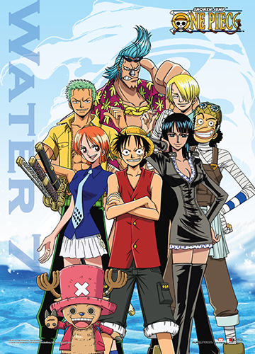 One Piece - Water 7 Wall Scroll, an officially licensed product in our One Piece Wall Scroll Posters department.