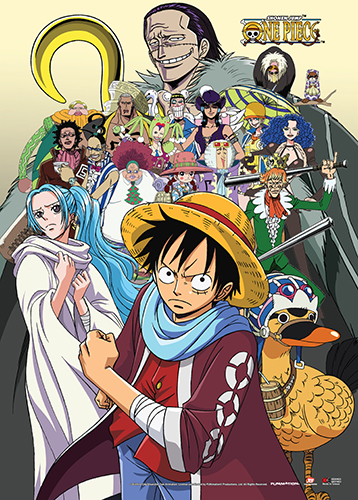 One Piece - Baroque Works, Vivi & Luffy Wall Scroll, an officially licensed product in our One Piece Wall Scroll Posters department.