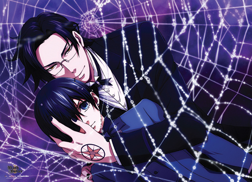 Black Butler 2 - Claude And Ciel Wallscroll