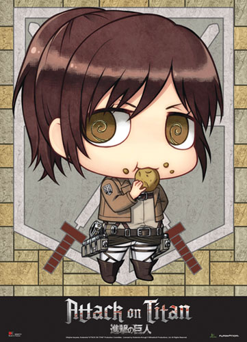 Attack On Titan - Sd Sasha Wallscroll, an officially licensed Attack on Titan Wall Scroll