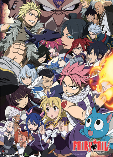 Fairy Tail - Season 6 Keyart Wallscroll, an officially licensed product in our Fairy Tail Wall Scroll Posters department.