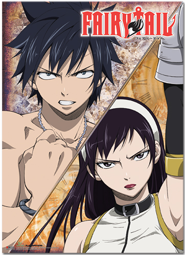 Fairy Tail - Gray Vs Ultear Wallscroll, an officially licensed product in our Fairy Tail Wall Scroll Posters department.
