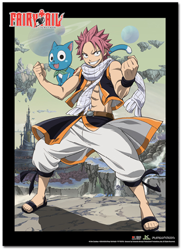 Fairy Tail - Season 3 Group 1 Wallscroll, an officially licensed product in our Fairy Tail Wall Scroll Posters department.