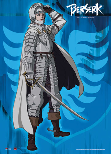 Berserk - Griffith Wallscroll, an officially licensed Berserk Wall Scroll