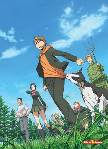 Silver Spoon - Group 2 Wallscroll, an officially licensed product in our Silver Spoon Wall Scroll Posters department.