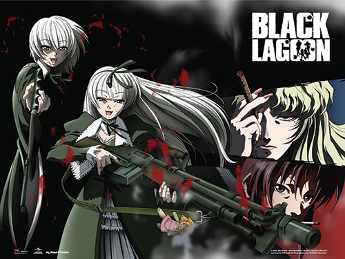 Black Lagoon - Hansel & Gretel Wall Scroll, an officially licensed Black Lagoon product at B.A. Toys.