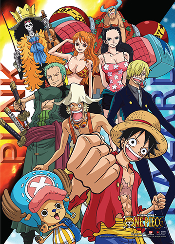 One Piece - Punk Hazard Fire & Ice Wall Scroll, an officially licensed product in our One Piece Wall Scroll Posters department.