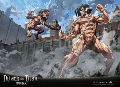 Attack On Titan - Group 1 Wallscroll, an officially licensed Attack On Titan product at B.A. Toys.