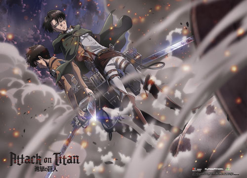Attack On Titan - Group 2 Wallscroll, an officially licensed product in our Attack On Titan Wall Scroll Posters department.