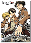 Attack On Titan - Key Art 18' Wallscroll officially licensed product at B.A. Toys.