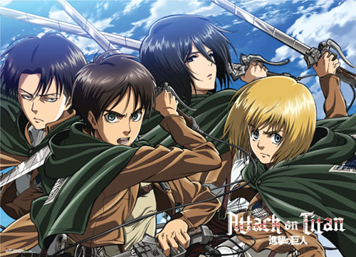 Attack On Titan - Key Art 16 Special Edition Wallscroll, an officially licensed product in our Attack On Titan Wall Scroll Posters department.