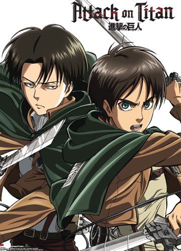 Attack On Titan - Keyart 17 Special Edition Wallscroll, an officially licensed product in our Attack On Titan Wall Scroll Posters department.