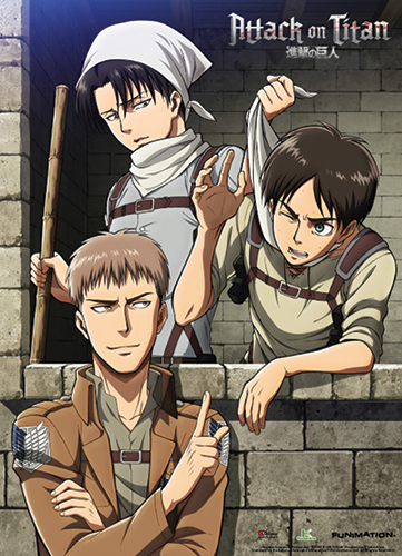 Attack On Titan - Clean Up Room Wallscroll, an officially licensed product in our Attack On Titan Wall Scroll Posters department.
