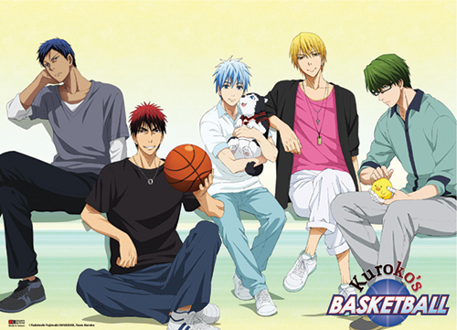 Kuroko's Basketball - Casual Wear Wallscroll, an officially licensed product in our Kuroko'S Basketball Wall Scroll Posters department.