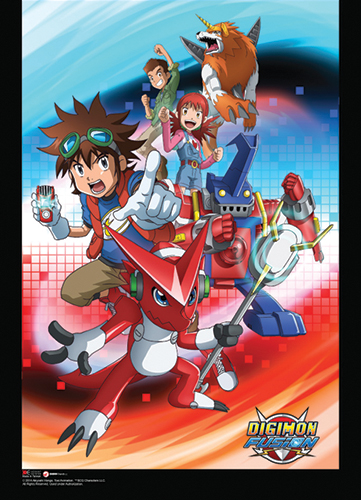Digimon - Group 2 Wallscroll officially licensed product at B.A. Toys.