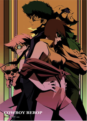 Cowboy Bebop - Group Wallscroll officially licensed Cowboy Bebop Wall Scroll Posters product at B.A. Toys.