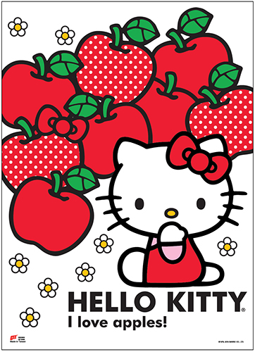 Hello Kitty - Hello Kitty Wall Scroll, an officially licensed product in our Hello Kitty Wall Scroll Posters department.