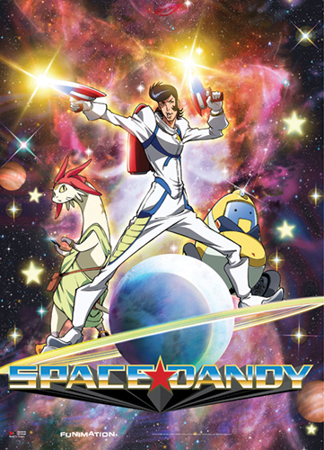 Space Dandy - Dandy Meow Qt Wallscroll, an officially licensed product in our Space Dandy Wall Scroll Posters department.