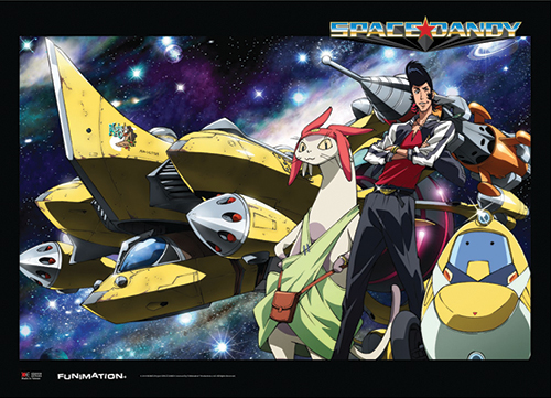 Space Dandy - Aloha Oe Ship Wallscroll, an officially licensed product in our Space Dandy Wall Scroll Posters department.