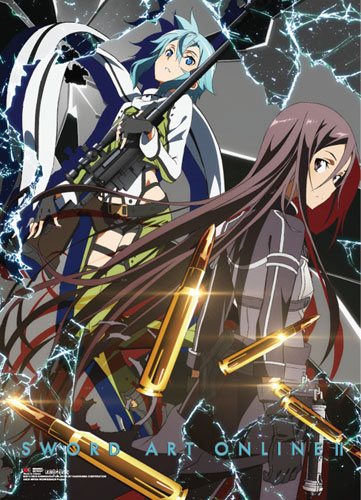 Sword Art Online - Key Art 2 Wallscroll, an officially licensed product in our Sword Art Online Wall Scroll Posters department.