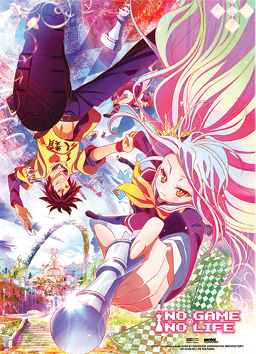 No Game No Life - Key Visual Wall Scroll, an officially licensed product in our No Game No Life Wall Scroll Posters department.