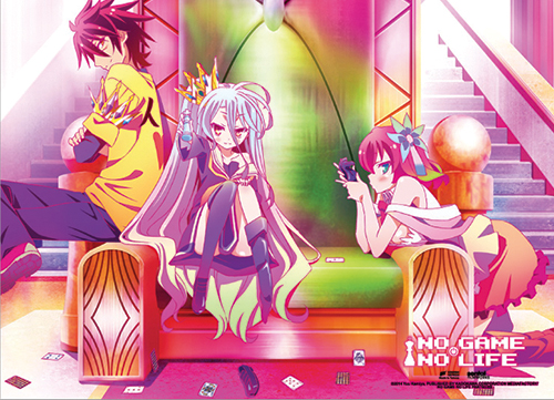 No Game No Life - The Throne Wall Scroll, an officially licensed product in our No Game No Life Wall Scroll Posters department.