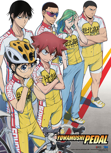 Yowamushi Pedal - Key Visual Wall Scroll, an officially licensed product in our Yowamushi Pedal Wall Scroll Posters department.