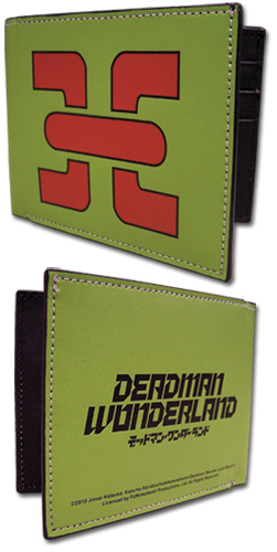 Deadman Wonderland Wonderland Emblem Wallet, an officially licensed Deadman Wonderland Wallet & Coin Purse