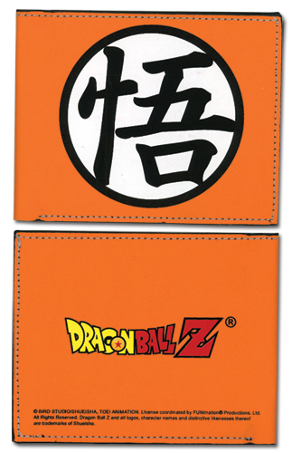 Dragon Ball Z Goku Symbol Wallet, an officially licensed Dragon Ball Z Wallet & Coin Purse