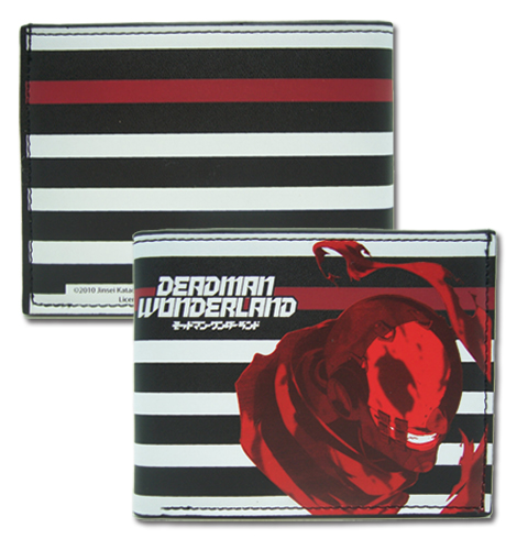 Deadman Wonderland Wretched Egg Bi-fold Wallet, an officially licensed Deadman Wonderland product at B.A. Toys.